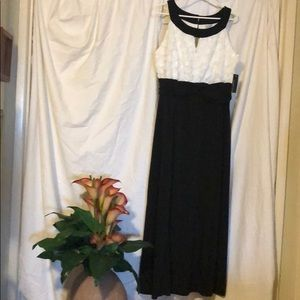 Black & White Maxie Dress